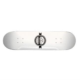 Hergestellt in 10033 New York City 19,1 Cm Old School Skateboard Deck