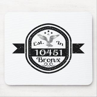 Hergestellt in 10451 Bronx Mousepad