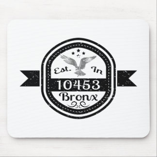 Hergestellt in 10453 Bronx Mousepad