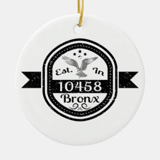 Hergestellt in 10458 Bronx Keramik Ornament