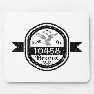 Hergestellt in 10458 Bronx Mousepad