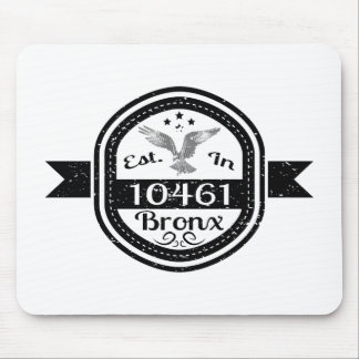 Hergestellt in 10461 Bronx Mousepad