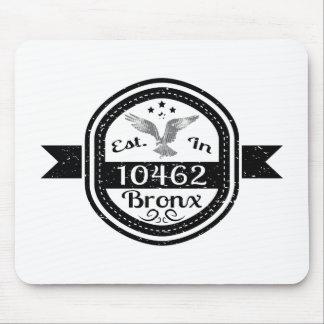 Hergestellt in 10462 Bronx Mousepad