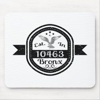 Hergestellt in 10463 Bronx Mousepad
