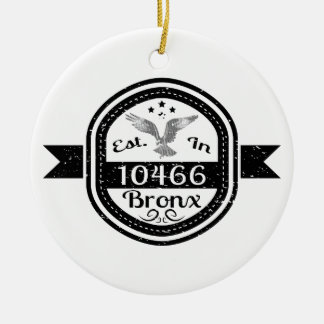 Hergestellt in 10466 Bronx Keramik Ornament
