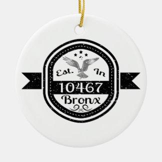 Hergestellt in 10467 Bronx Keramik Ornament