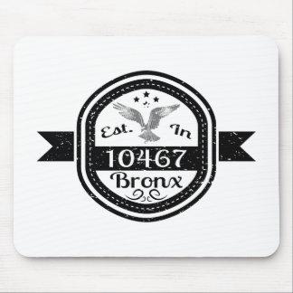 Hergestellt in 10467 Bronx Mousepad