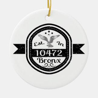 Hergestellt in 10472 Bronx Keramik Ornament
