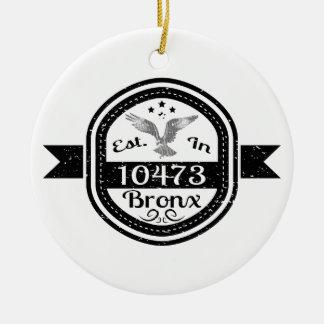 Hergestellt in 10473 Bronx Keramik Ornament
