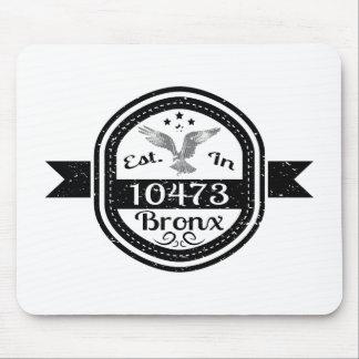 Hergestellt in 10473 Bronx Mousepad