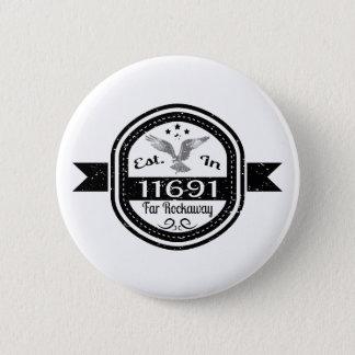Hergestellt in 11691 weites Rockaway Runder Button 5,1 Cm