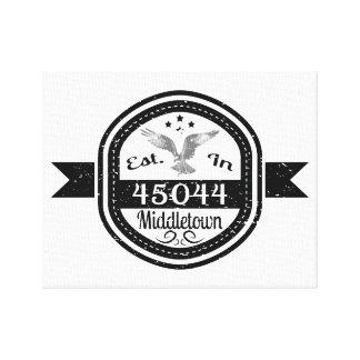 Hergestellt in 45044 Middletown Leinwanddruck