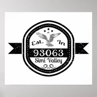 Hergestellt in 93063 Simi Valley Poster