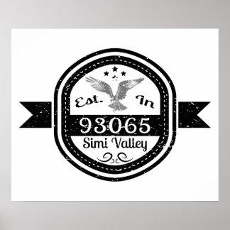 Hergestellt in 93065 Simi Valley Poster
