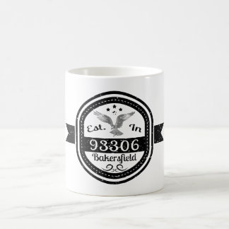 Hergestellt in 93306 Bakersfield Kaffeetasse