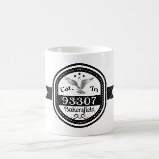 Hergestellt in 93307 Bakersfield Kaffeetasse