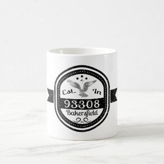 Hergestellt in 93308 Bakersfield Kaffeetasse