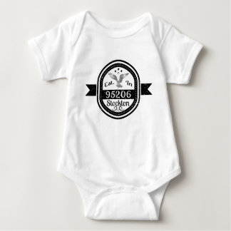 Hergestellt in 95206 Stockton Baby Strampler