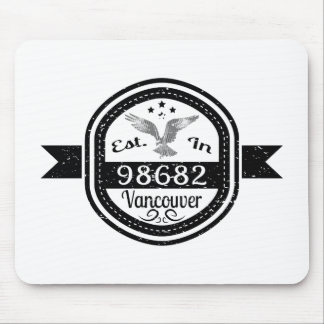 Hergestellt in 98682 Vancouver Mousepad