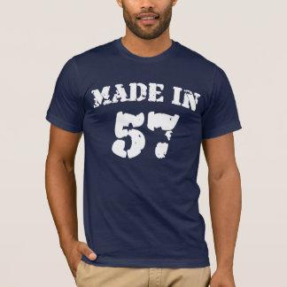 Hergestelltes im Jahre 1957 Shirt