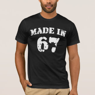 Hergestelltes im Jahre 1967 Shirt