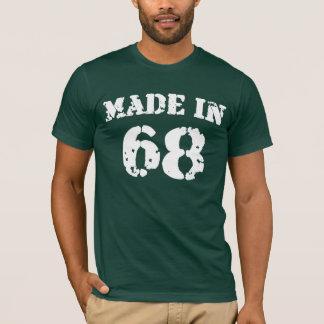 Hergestelltes im Jahre 1968 Shirt