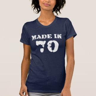 Hergestelltes im Jahre 1970 Shirt