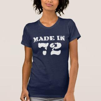 Hergestelltes im Jahre 1972 Shirt