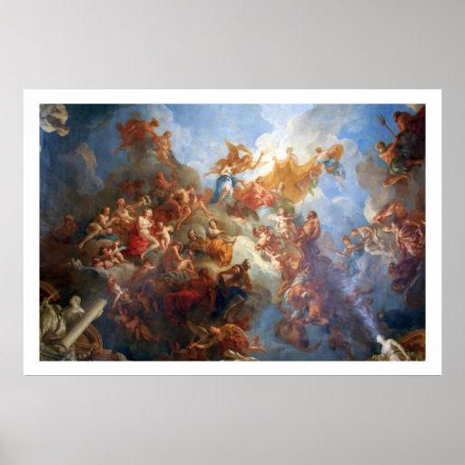 Herkules-Allegorie Plakatdrucke