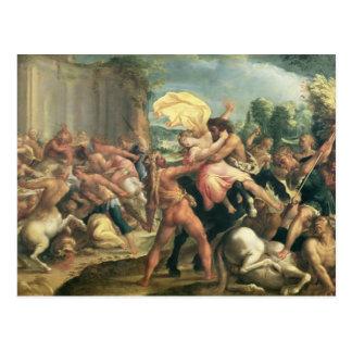Herkules, Deianeira und der Zentaur Eurytion Postkarte