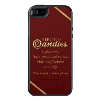 Herkules-Süßigkeit Otterbox Handy-Fall OtterBox iPhone 5/5s/SE Hülle