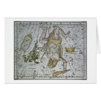 """Herkules, von """"einem himmlischen Atlas"""", Kneipe. Karte"""