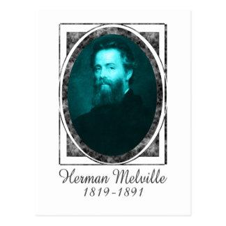 Herman Melville Postkarte