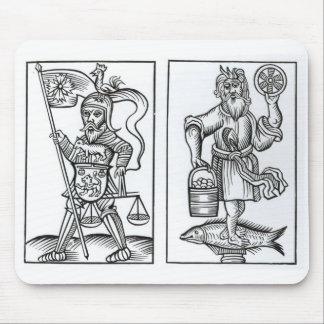 Hermensul oder Irmensul (verlassen) und Crodon Mousepad