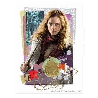 Hermione 14 postkarte