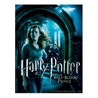 Hermione Granger 3 Postkarte