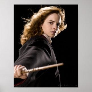 Hermione Granger bereit zur Aktion Poster