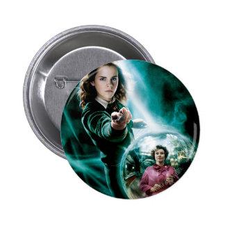 Hermione Granger und Professor Umbridge Runder Button 5,7 Cm