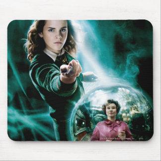 Hermione Granger und Professor Umbridge Mauspad