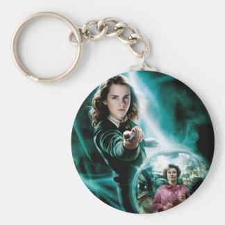 Hermione Granger und Professor Umbridge Standard Runder Schlüsselanhänger