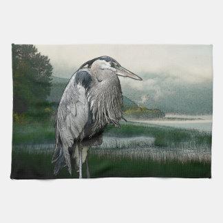 Heron See Geschirrtuch