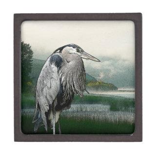 Heron See Schachtel