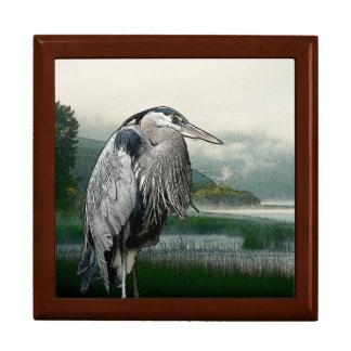 Heron See Schmuckschachtel