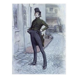 Herr Alfred Jingle Postkarte