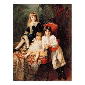 Herr Balashovs Children, 1880 Postkarte