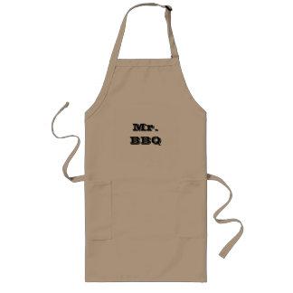 Herr BBQ, die Schürze grillen