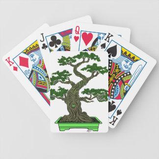 Herr Bonsai Bicycle Spielkarten