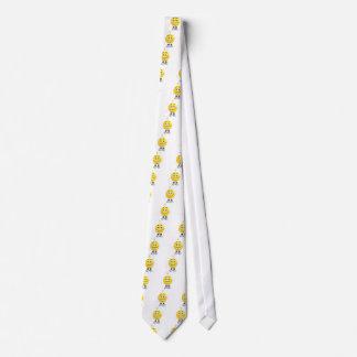 Herr Brainy das dieses Emoji Lieben zu denken Krawatte