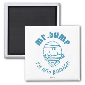 Herr Bump | bin ich in Verband Quadratischer Magnet