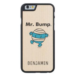 Herr Bump Herr-Men | ist ein Clutz Carved® iPhone 6 Hülle Ahorn
